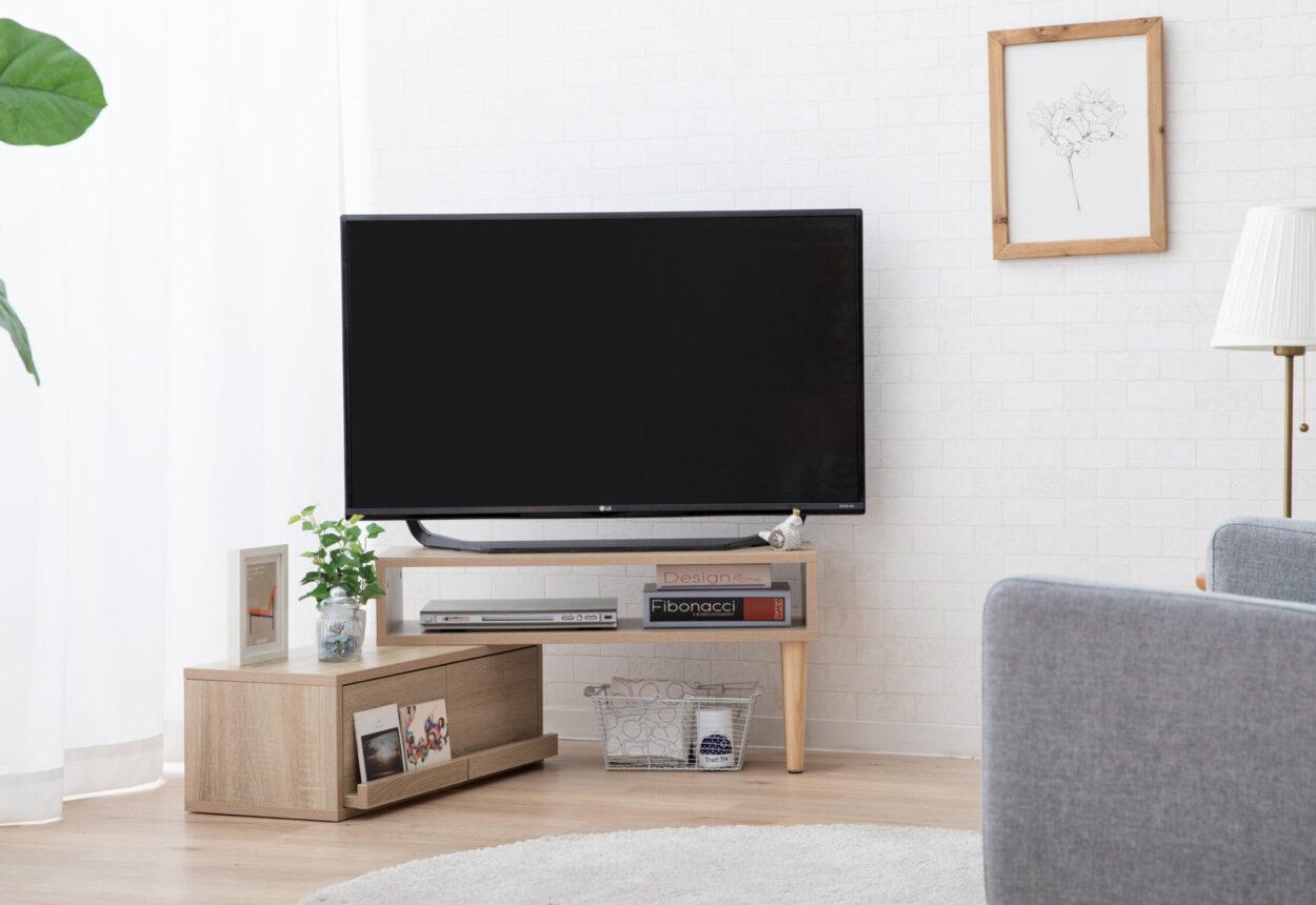 『絶対に買うべきおすすめ伸縮タイプのテレビ台』に選出