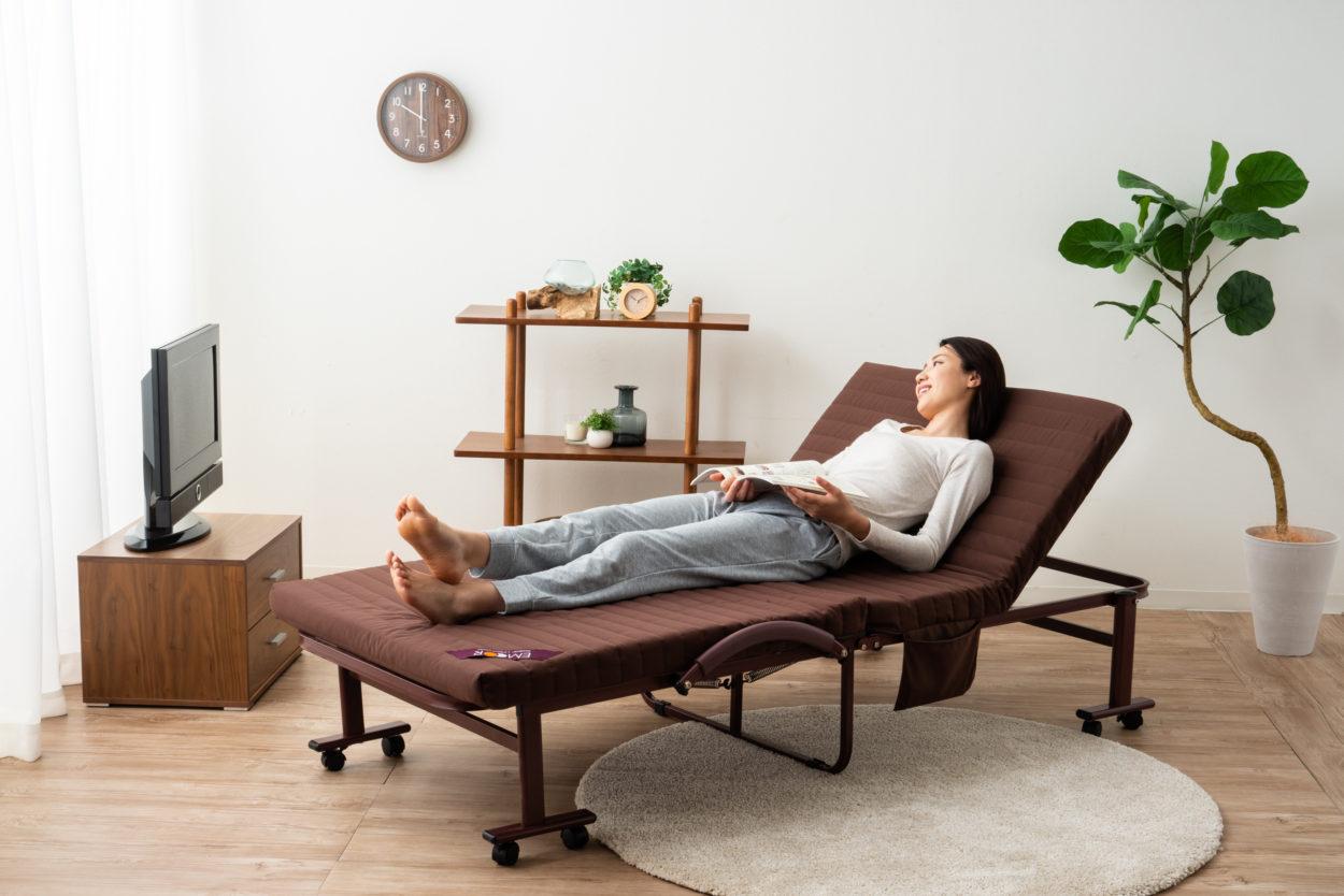 整理収納アドバイザーが選ぶ『一人暮らし用ベッドおすすめ5選』に選出
