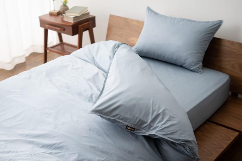 アレルギー対策の決定版であるアレルゼロ/ベッド用カバー